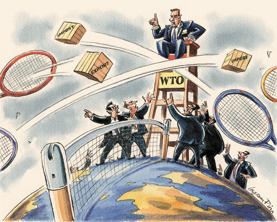 americas role in the world trade organization The world trade organization is projecting that global trade in goods will grow 36 percent this year, more than double the rate last year, as economies around the world continue to strengthen.