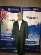 Dr. Stuart Malawer in Tokyo at the Wharton Global Forum (May 2013).
