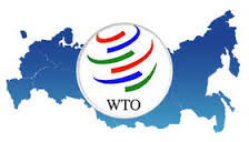 Russia and Wto Flags