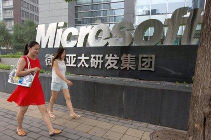 China and Microsoft (NYT 8.11.14)